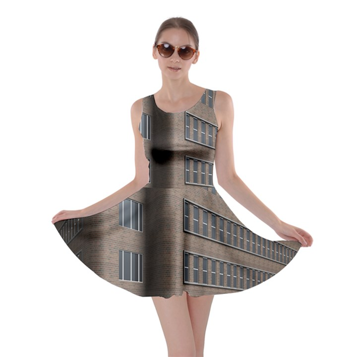 Office Building Villa Rendering Skater Dress