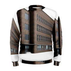 Office Building Villa Rendering Men s Sweatshirt