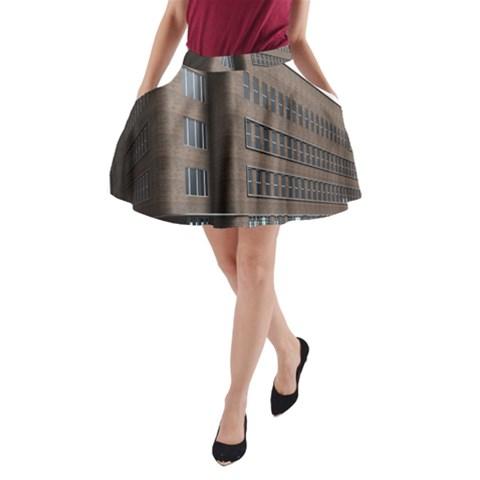 Office Building Villa Rendering A-Line Pocket Skirt