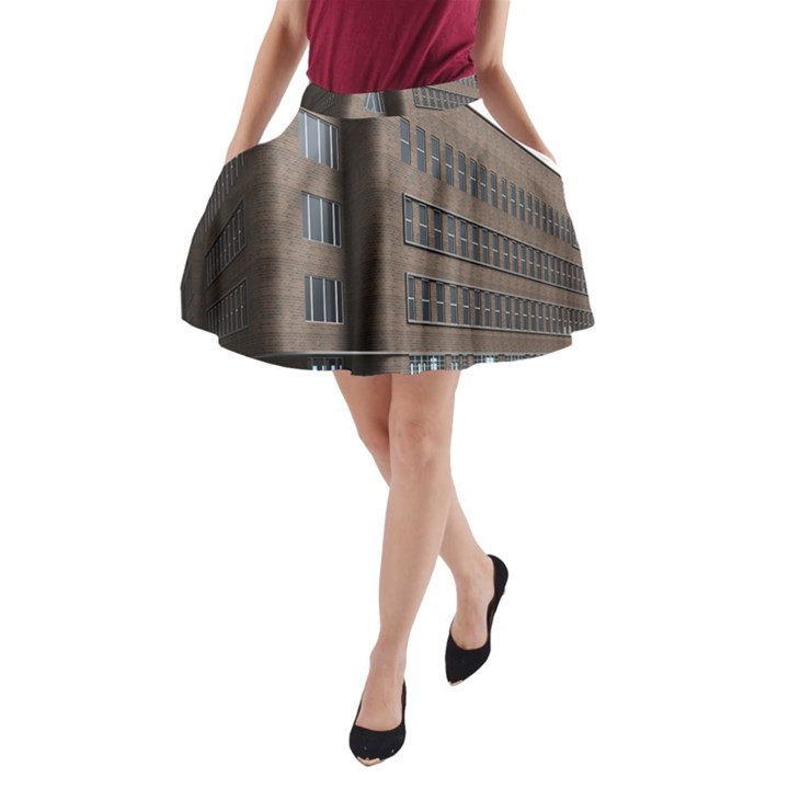 Office Building Villa Rendering A-Line Pocket Skirt