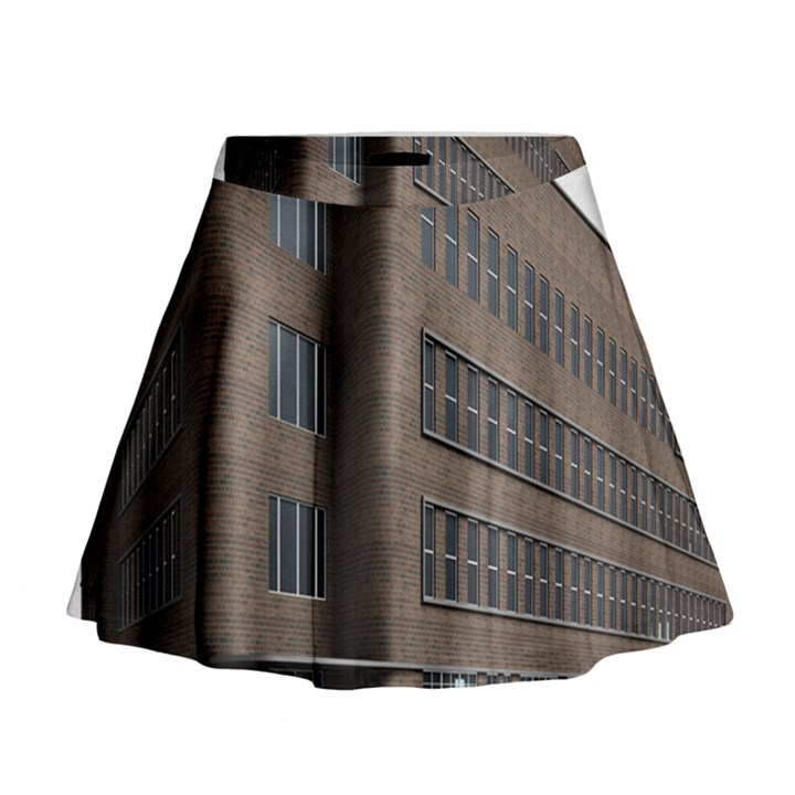 Office Building Villa Rendering Mini Flare Skirt