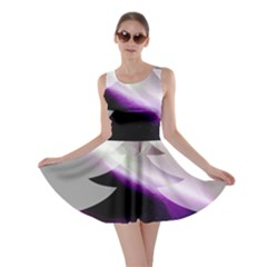 Purple Christmas Tree Skater Dress