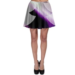 Purple Christmas Tree Skater Skirt