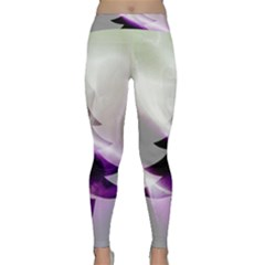 Purple Christmas Tree Yoga Leggings