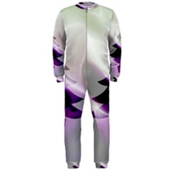 Purple Christmas Tree OnePiece Jumpsuit (Men)