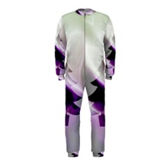 Purple Christmas Tree OnePiece Jumpsuit (Kids)