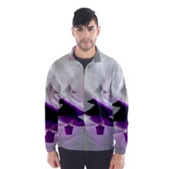Purple Christmas Tree Wind Breaker (Men)