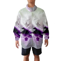Purple Christmas Tree Wind Breaker (Kids)