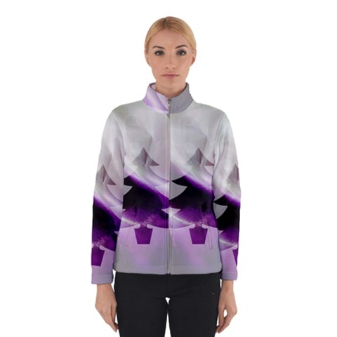 Purple Christmas Tree Winterwear