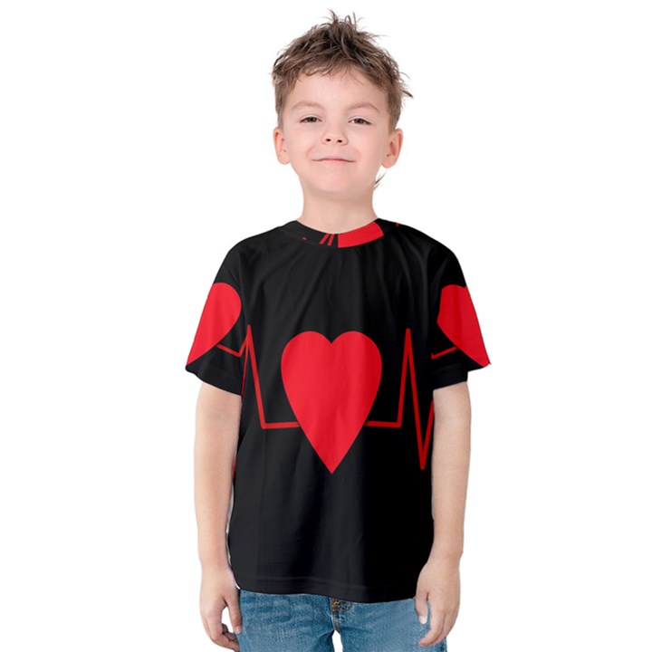 Hart bit Kids  Cotton Tee