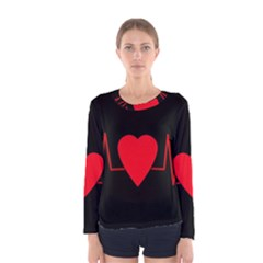 Hart Bit Women s Long Sleeve Tee