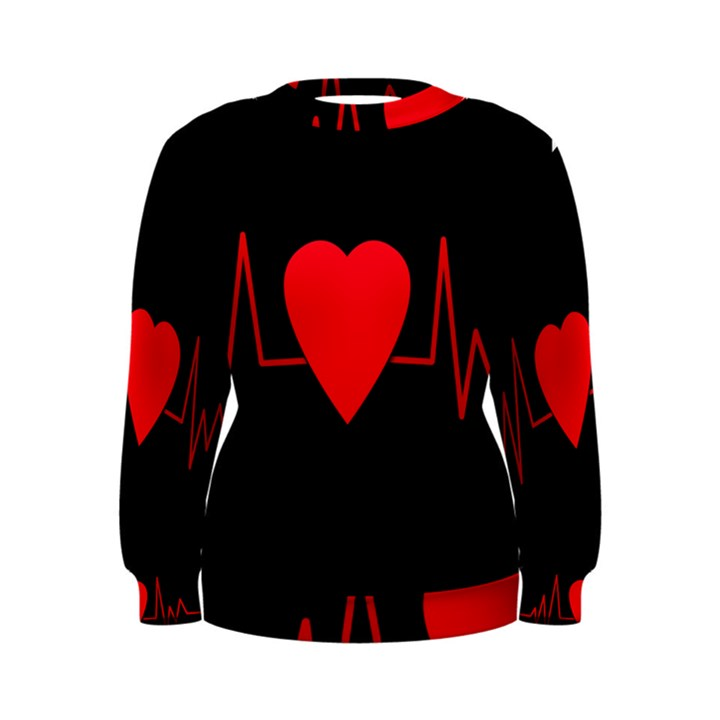 Hart bit Women s Sweatshirt