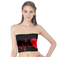 Hart bit Tube Top
