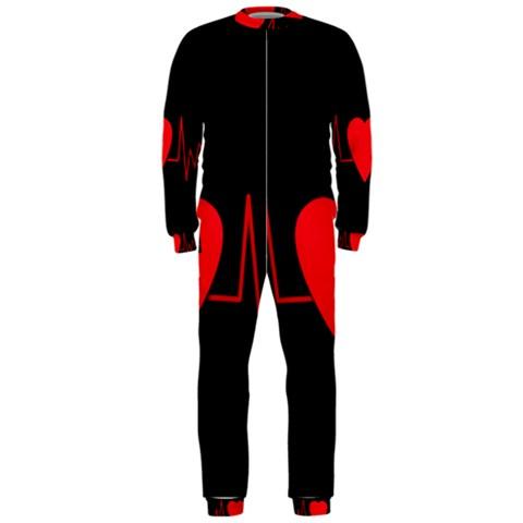 Hart bit OnePiece Jumpsuit (Men)