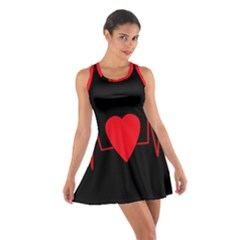 Hart bit Cotton Racerback Dress