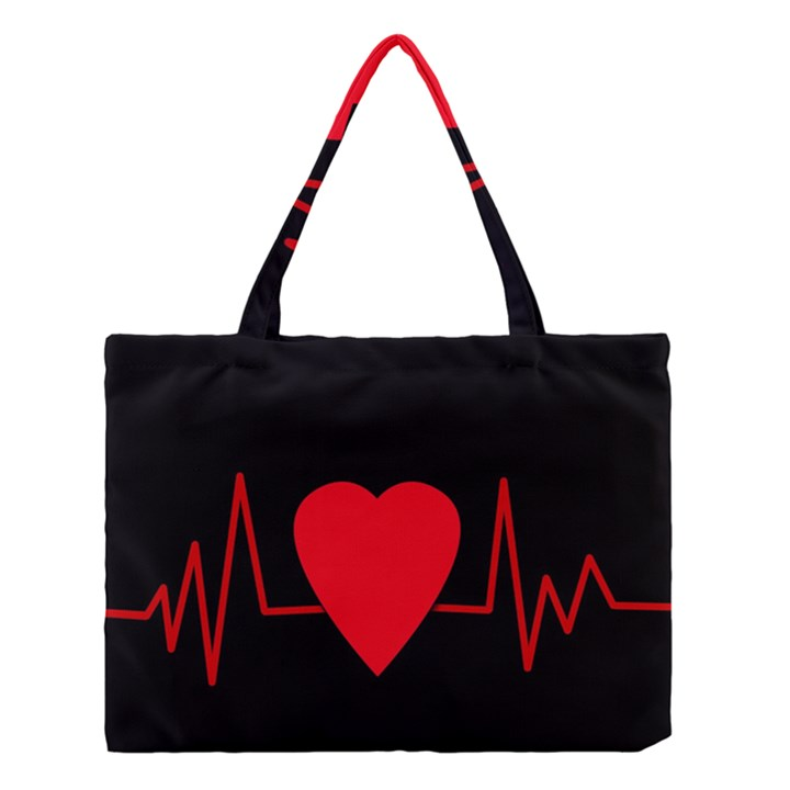 Hart bit Medium Tote Bag