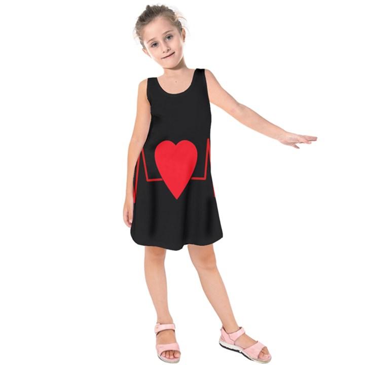 Hart bit Kids  Sleeveless Dress