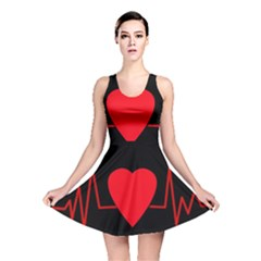 Hart Bit Reversible Skater Dress