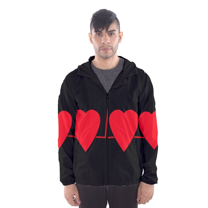 Hart bit Hooded Wind Breaker (Men)