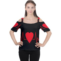 Hart bit Women s Cutout Shoulder Tee