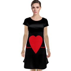 Hart Bit Cap Sleeve Nightdress