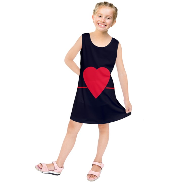 Hart bit Kids  Tunic Dress