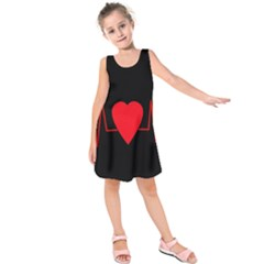 Hart bit Kids  Sleeveless Dress