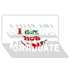 I am hot  Congrats Graduate 3D Greeting Card (8x4)