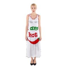 I Am Hot  Sleeveless Maxi Dress