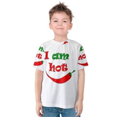 I Am Hot  Kids  Cotton Tee