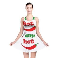 I Am Hot  Reversible Skater Dress