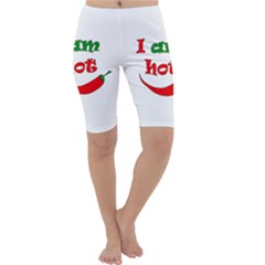 I am hot  Cropped Leggings