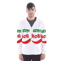 I am hot  Hooded Wind Breaker (Men)