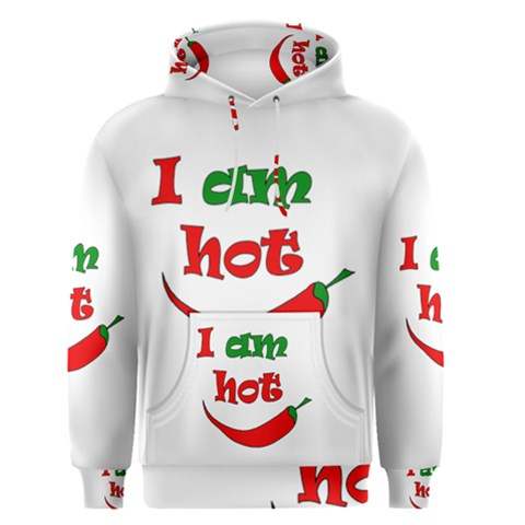 I am hot  Men s Pullover Hoodie