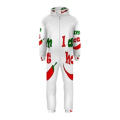 I am hot  Hooded Jumpsuit (Kids)