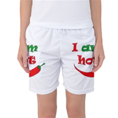 I am hot  Women s Basketball Shorts