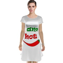 I am hot  Cap Sleeve Nightdress