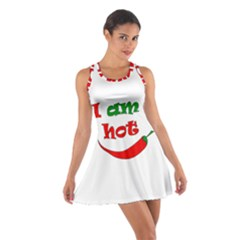 I Am Hot  Cotton Racerback Dress