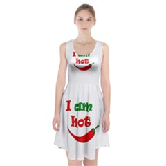I Am Hot  Racerback Midi Dress