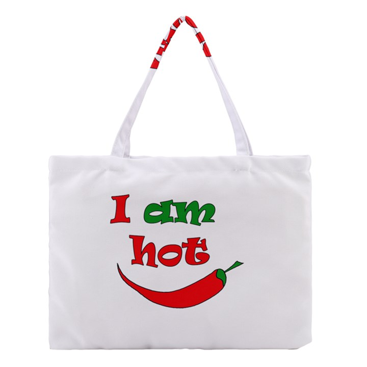 I am hot  Medium Tote Bag