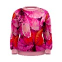 Geometric Magenta Garden Women s Sweatshirt View1