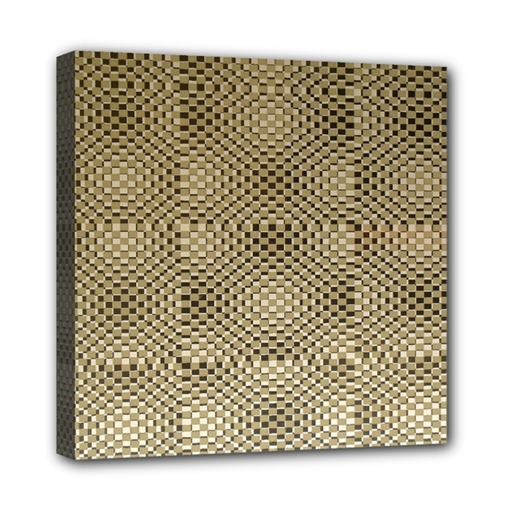 Fashion Style Glass Pattern Mini Canvas 8  x 8