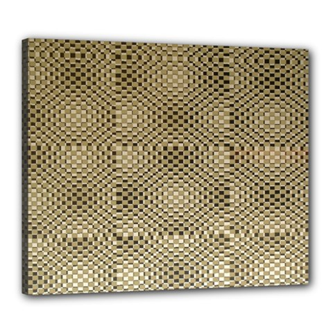 Fashion Style Glass Pattern Canvas 24  x 20