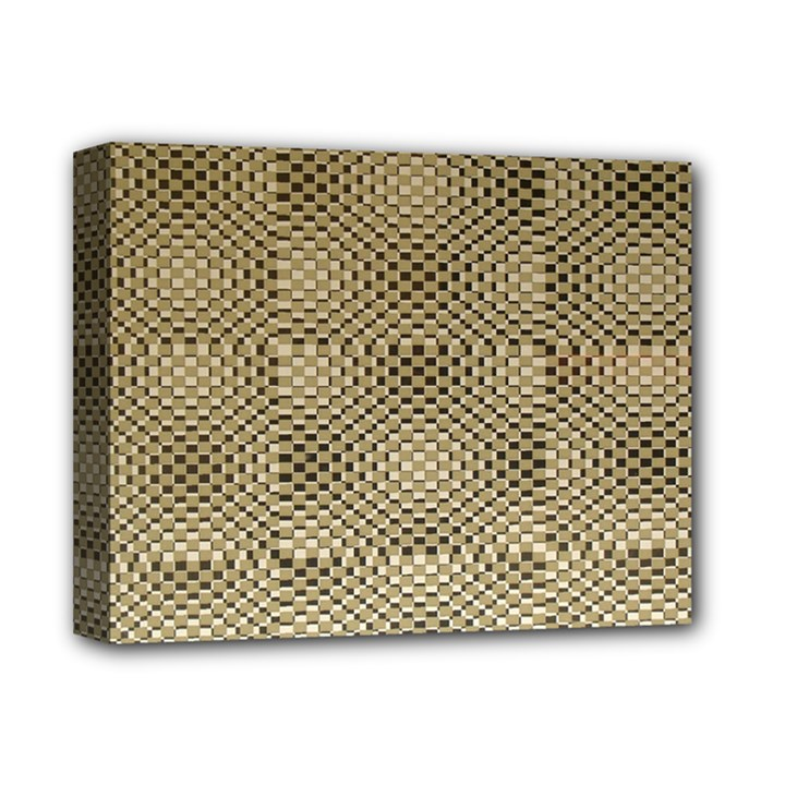 Fashion Style Glass Pattern Deluxe Canvas 14  x 11