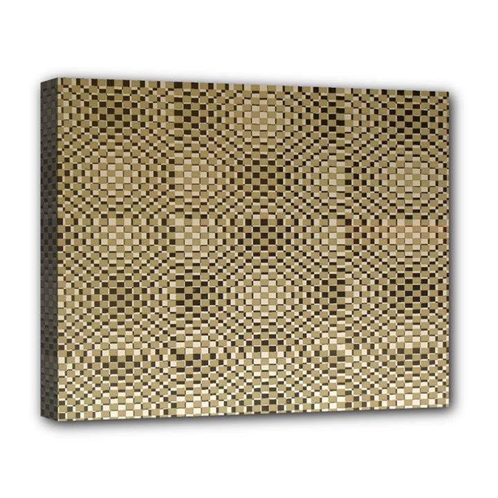 Fashion Style Glass Pattern Deluxe Canvas 20  x 16