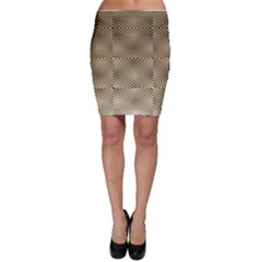 Fashion Style Glass Pattern Bodycon Skirt