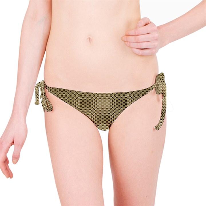 Fashion Style Glass Pattern Bikini Bottom
