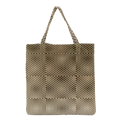 Fashion Style Glass Pattern Grocery Tote Bag