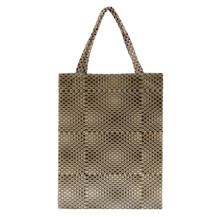 Fashion Style Glass Pattern Classic Tote Bag