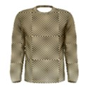 Fashion Style Glass Pattern Men s Long Sleeve Tee View1